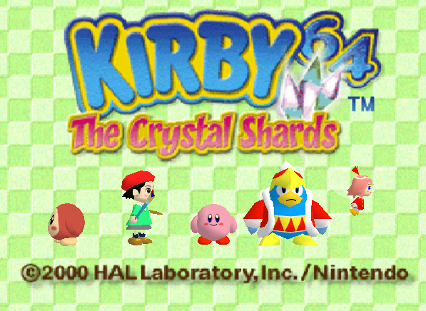 Kirby in 3D!